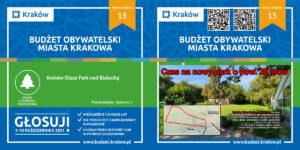Plakaty do BO Kraków 2021