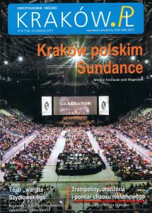 Okładka Krakow.pl z wyróżnionym projektem.